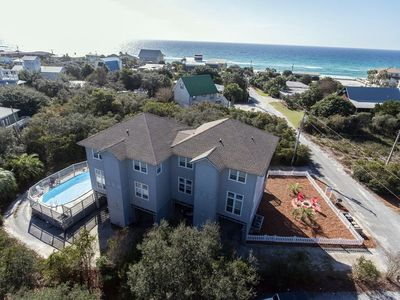 Photo for Steps to the Private Beach! Pool, Gulf Views! South of 30A!
