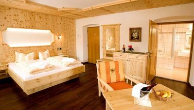 """Photo for Zirbensuite """"high class"""" 38,8m² - Alpenhotel Tyrol - """"Urban-Soul"""" - adults only"""