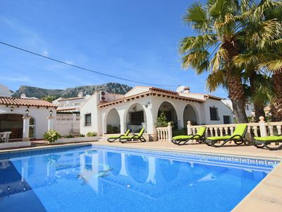 Photo for Tranquil 3-bed Calpe Villa w/Private Pool - Walk to the City Centre & Beach