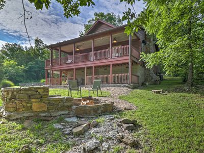 Photo for 'Creekside Hideaway' Home w/Fire Pit+Creek Access!
