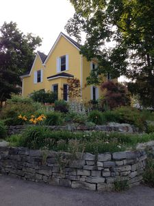 Our 1870's home with award winning gardens