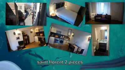 Photo for CHARMING 2 ROOMS IN THE HEART OF THE OLD SAINT-FLORENT
