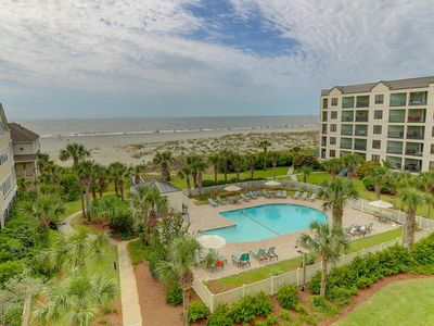 Photo for $200 Gift Card for Weekly Bookings! 411 Summerhouse Villa, 3 Bedroom 3 Bath Ocean Front 4th Floor Awesome Ocean Views