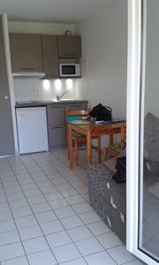 Photo for equipped studio at 150 m from the beach, Vaux sur Mer / Royan