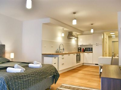 Photo for Laeken Studio II apartment in Brussels Centre with WiFi.