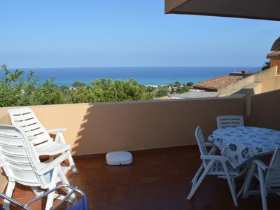 Photo for Two-room apartment with beautiful view a few steps from the sea