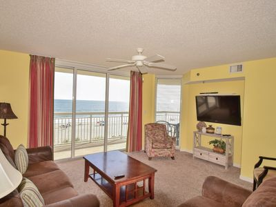 Crescent Shores Oceanfront Unit 311! Ocean Front Lazy River/Ocean Front Pool/On Site Grill