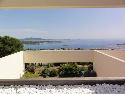 Photo for APARTMENT + TERRACE WITH PANORAMIC SEA VIEW