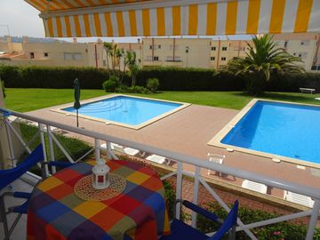Apart. T1 - Praia das Macas, in condominium with pool, near the beach