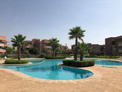 Photo for Superb 3 Bedroom Apartment with Pool PRESTIGIA MONTGOMERIE GOLF CITY