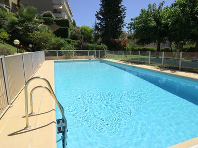 Photo for Studio Jardin, Cannes, Patio, Pool Le Suquet (900m) Palais des Festivals is 1.3K