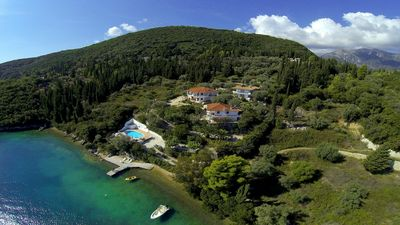 Photo for A Secluded Bay And Exquisite Seafront Villa- Orange