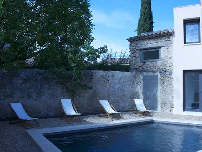 Photo for House with pool in the center of Lourmarin