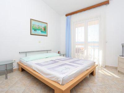 Photo for Studio flat with balcony and sea view Stanići, Omiš (AS-2818-b)