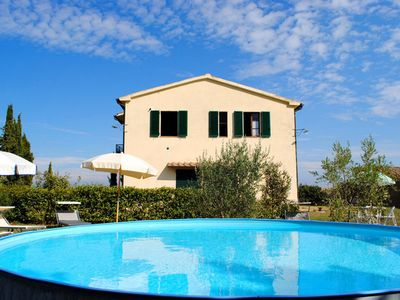 Photo for 2BR Villa Vacation Rental in San Casciano Dei Bagni Area, Tuscany