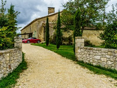 Photo for Rural retreat situated on 8.5 ha amongst vineyards in Bordeaux  wine  district