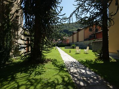 Photo for Apartment directly in the medieval historic center of Cannobio