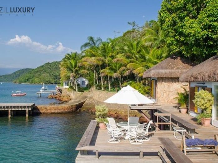 Nana Island is a stunning beachfront luxury villa.
