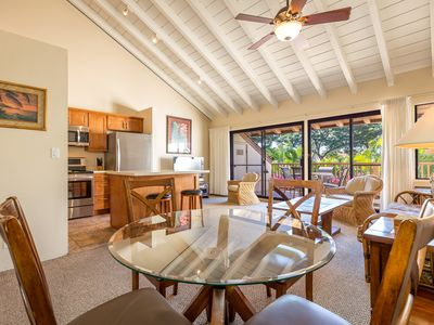 Photo for NEWLY REMODELED 2 BEDROOM-LARGE PRIVATE LANAI-BEAUTIFUL GARDEN VIEWS-AC