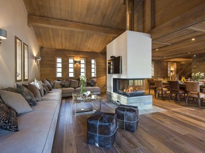Photo for Luxury modern 4 bedroom chalet close to the slope in Le Lac