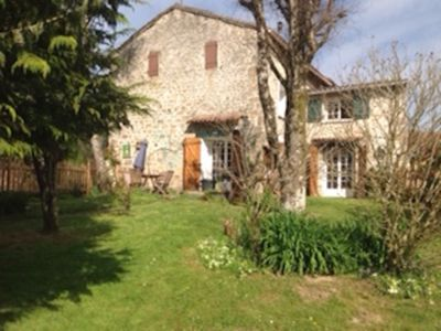 Photo for Seventeenth Century Cottage.Heart of the Limousin Forest.Family and pet friendly