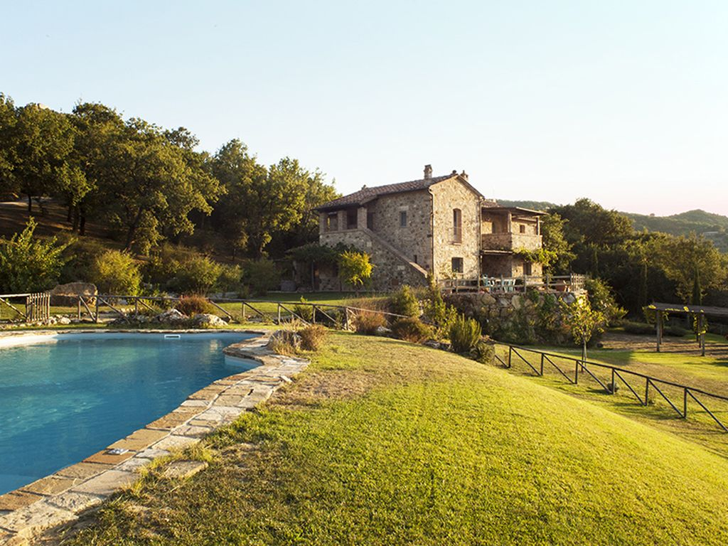 Villa surrounded by olive groves and... - HomeAway Castiglione d\'Orcia