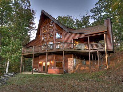 Photo for Breathtaking Mountain Home with Amazing Long Range Views of the Cohutta Mtns
