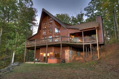 Breathtaking Mountain Home With Amazing Long Range Views Of The Cohutta Mtns Blue Ridge