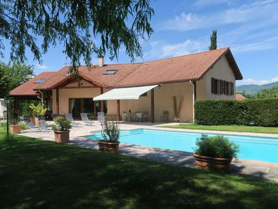 Photo for VILLA + SWIMMING POOL BETWEEN GRENOBLE AND CHAMROUSSE