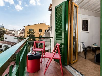 Photo for Mirta Apartment In Florence, Bright, Comfortable And Elegant, With Balcony