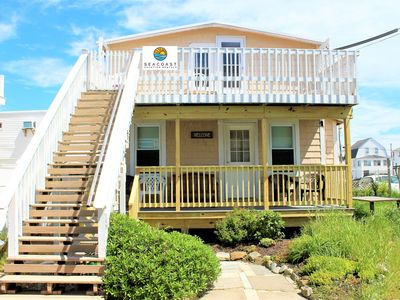 Photo for ❂NEW! Private Beach Home ½ Block to Ocean & Boardwalk❂