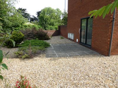 Photo for This ground floor apartment benefits from its own courtyard garden, parking and is pet friendly