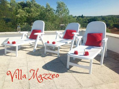 Photo for Stunning Views, WIFI&Air-Con, Peaceful/Rural Setting Near Ostuni/ Private Pool
