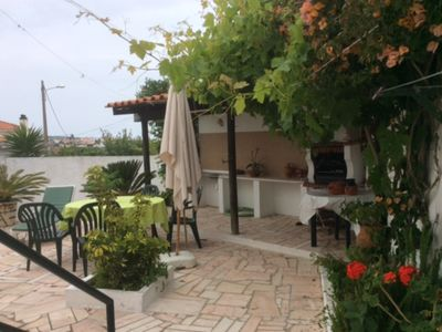 Photo for The House of Roses, 2.5 km from the beach of Areia Branca.