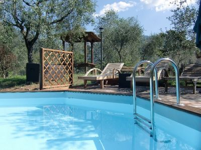 Photo for 4 bedroom Villa rustic bed in private estate with pool and garden
