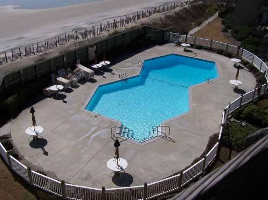 Oceanfront Condo With Swimming Pool And Amazing View Of Atlantic Ocean Topsail Beach Topsail