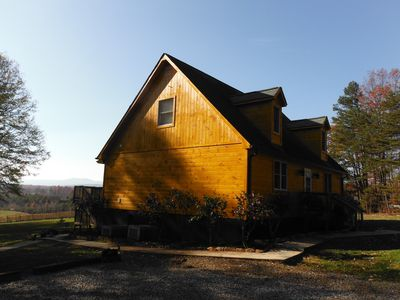 Photo for Pet Friendly Rental Cabin In The Heart Of Wine Country