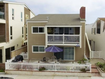 Photo for Surf's Up!  One House From Sand at Newport's Best Surf Break!