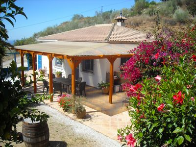 Photo for This 2-bedroom villa for up to 5 guests is located in Rincon De La Victoria and has a private swimmi