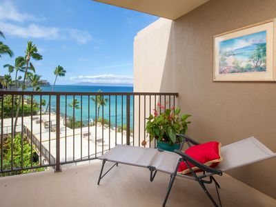 Photo for Ocean Front unit w/ updated kitchen, shared pool, deck, grills, Free WiFi