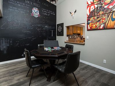 Photo for South Scottsdale Townhome: 2 BR Poker table, Dart board, Chalkboard wall, FUN for ALL!