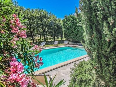 Photo for Authentic farmhouse in Montségur-sur-Lauzon, Drôme, swimming pool, pets allowed