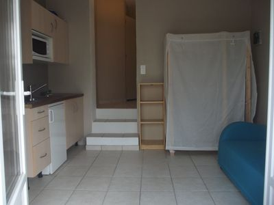 Photo for T1 furnished with 20 m2 ground floor house with pool access.