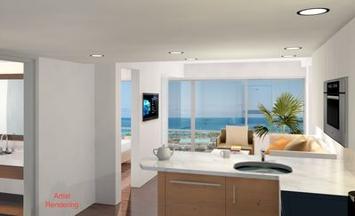 Photo for New Upscale Ilikai  Condo w/ Unobstructed Ocean Views
