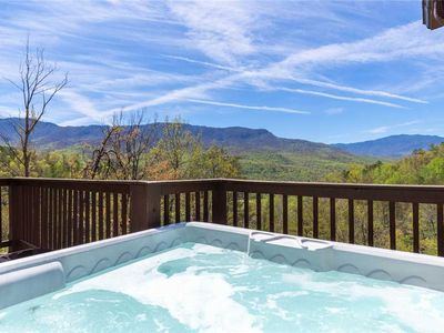 Photo for Bearly Heaven, 2 Bedrooms, Fireplace, Hot Tub, WiFi, Pool Table, Sleeps 8