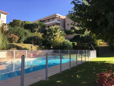 Photo for Cannes Self-Contained Studio with Own Patio/Garden /Shared Pool in a quiet area