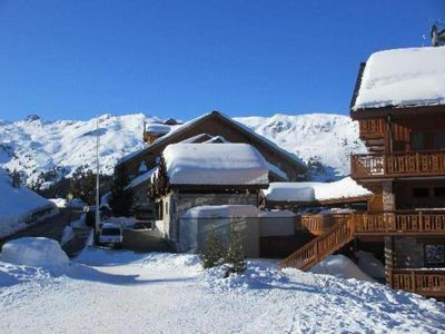 Photo for 115m2 on the slopes, at the Belvedere, south, quiet, meribel label 4 *