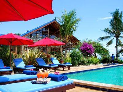 Photo for Villa Ume Cantik- detached -seaview-private swimmingpool-privacy-close by beach