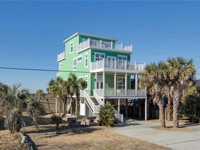 Photo for Gorgeous Home with Spectacular Marsh and Ocean Views