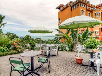 Photo for Hilltop property w/patio and terraces in Manuel Antonio - breathtaking views!